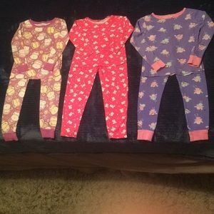 Girls PJ bundle x3, size 4